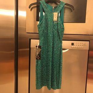 NWT Bebe sequin dress xs